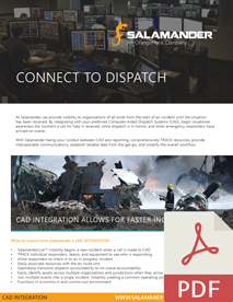 Computer Aided Dispatch Flier